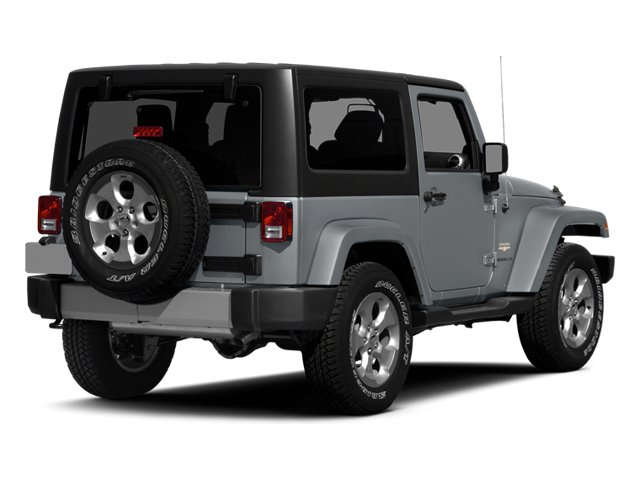 2014 Jeep Wrangler Pictures Wrangler Utility 2D Rubicon 4WD V6 photos side rear view
