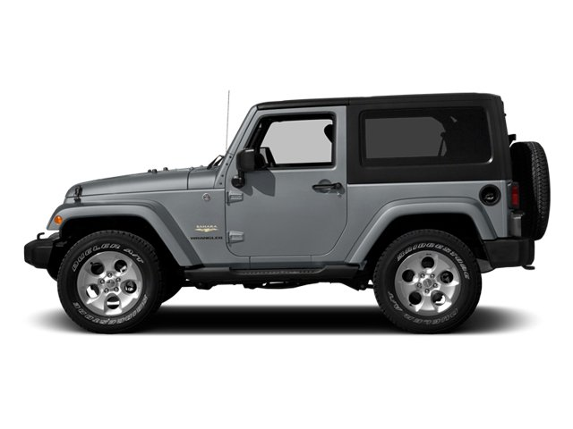 2014 Jeep Wrangler Pictures Wrangler Utility 2D Altitude 4WD V6 photos side view