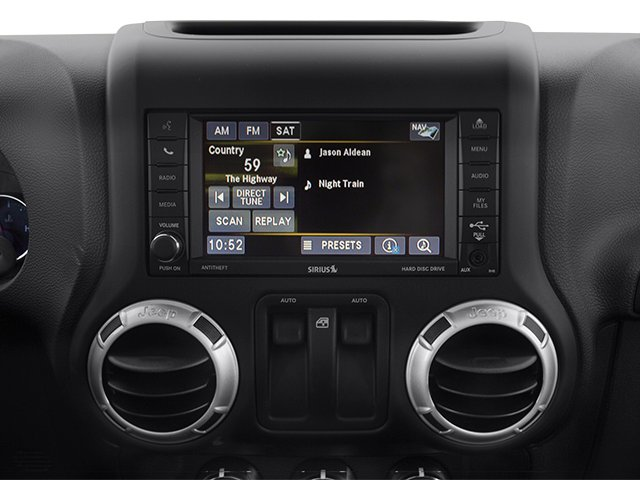 2014 Jeep Wrangler Prices and Values Utility 2D Altitude 4WD V6 stereo system