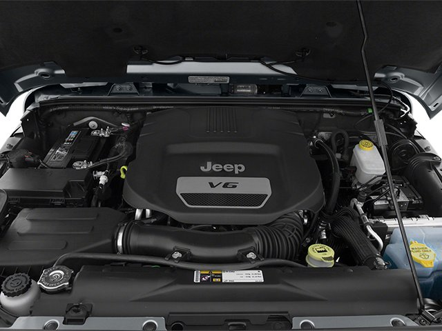 2014 Jeep Wrangler Pictures Wrangler Utility 2D Rubicon 4WD V6 photos engine