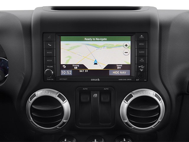 2014 Jeep Wrangler Prices and Values Utility 2D Altitude 4WD V6 navigation system