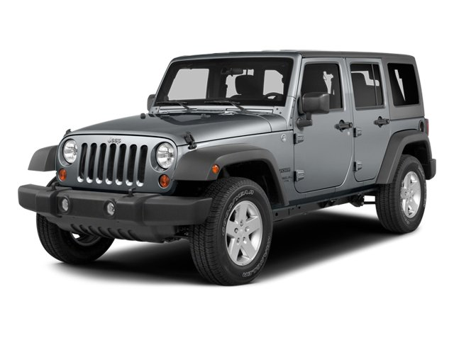 2014 Jeep Wrangler Unlimited Prices and Values Utility 4D Unlimited Sahara 4WD V6 side front view