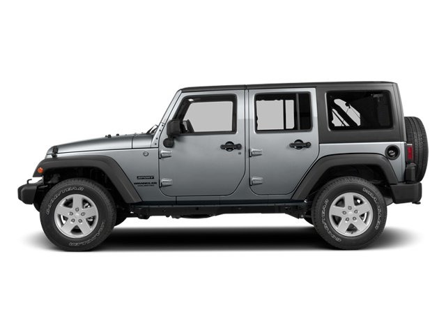 2014 Jeep Wrangler Unlimited Pictures Wrangler Unlimited Utility 4D Unlimited Altitude 4WD V6 photos side view