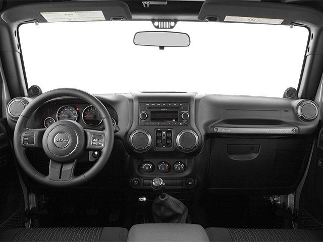 2014 Jeep Wrangler Unlimited Prices and Values Utility 4D Unlimited Sahara 4WD V6 full dashboard