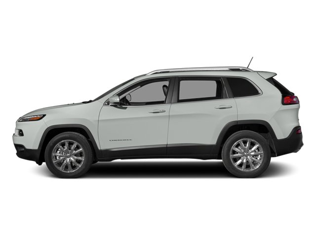2014 Jeep Cherokee Prices and Values Utility 4D Altitude 4WD side view