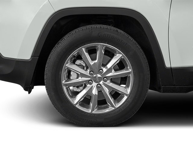 2014 Jeep Cherokee Pictures Cherokee Utility 4D Latitude 4WD photos wheel