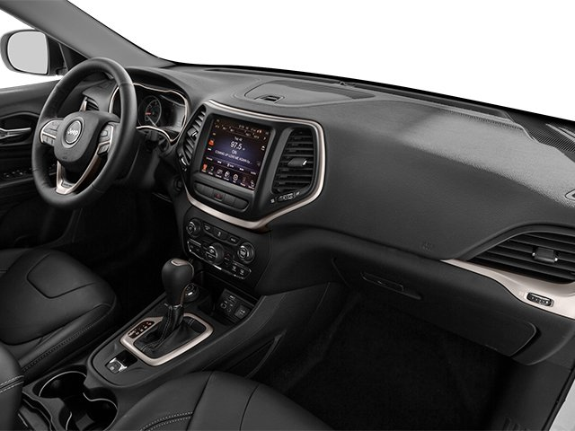 2014 Jeep Cherokee Prices and Values Utility 4D Limited 4WD passenger's dashboard