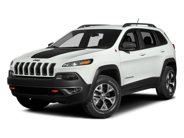 2014 Jeep Cherokee Prices and Values Utility 4D Trailhawk 4WD side front view