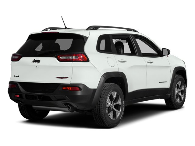 2014 Jeep Cherokee Prices and Values Utility 4D Trailhawk 4WD side rear view