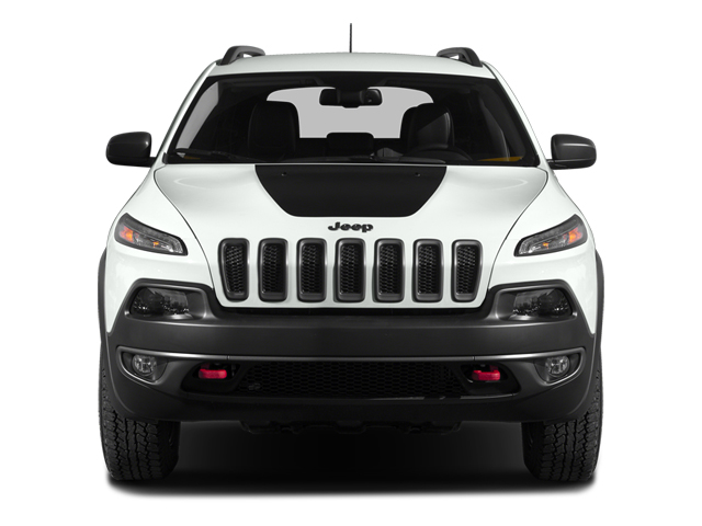 2014 Jeep Cherokee Prices and Values Utility 4D Trailhawk 4WD front view