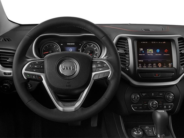 2014 Jeep Cherokee Prices and Values Utility 4D Trailhawk 4WD driver's dashboard