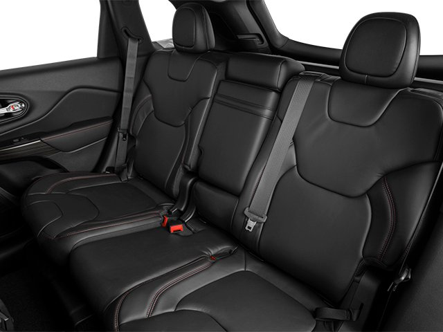 2014 Jeep Cherokee Prices and Values Utility 4D Trailhawk 4WD backseat interior