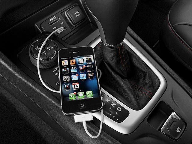 2014 Jeep Cherokee Prices and Values Utility 4D Trailhawk 4WD iPhone Interface