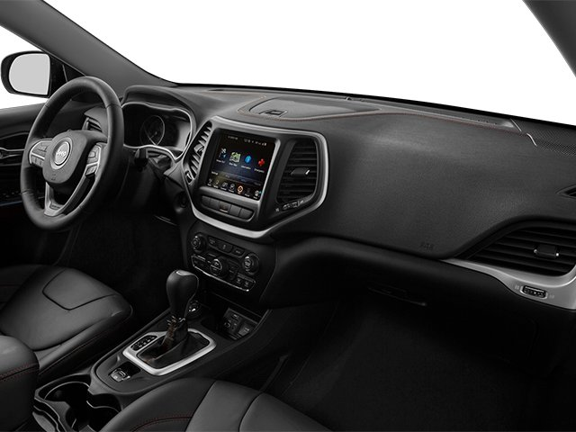 2014 Jeep Cherokee Prices and Values Utility 4D Trailhawk 4WD passenger's dashboard