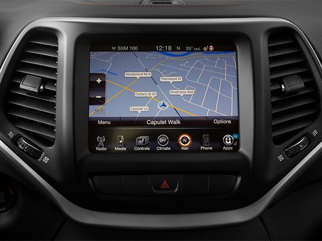 2014 Jeep Cherokee Prices and Values Utility 4D Trailhawk 4WD navigation system