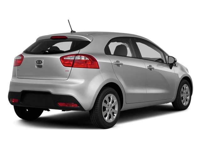 2014 Kia Rio Prices and Values Hatchback 5D EX I4 side rear view