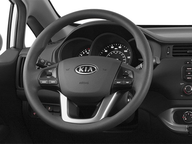 2014 Kia Rio Prices and Values Hatchback 5D EX I4 driver's dashboard
