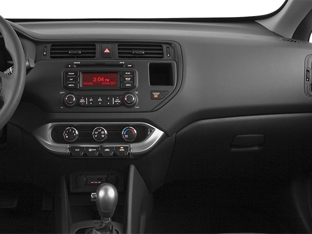 2014 Kia Rio Prices and Values Hatchback 5D EX I4 passenger's dashboard