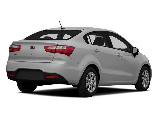 2014 Kia Rio Prices and Values Sedan 4D SX I4 side rear view
