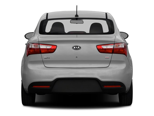 2014 Kia Rio Prices and Values Sedan 4D SX I4 rear view