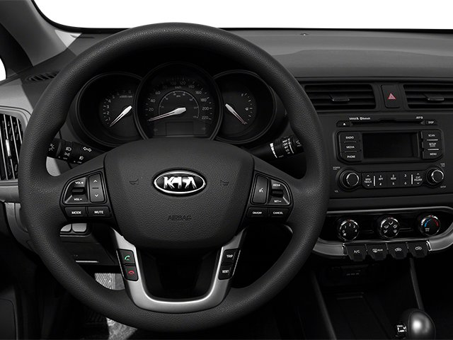 2014 Kia Rio Prices and Values Sedan 4D SX I4 driver's dashboard