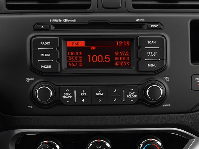 2014 Kia Rio Prices and Values Sedan 4D SX I4 stereo system