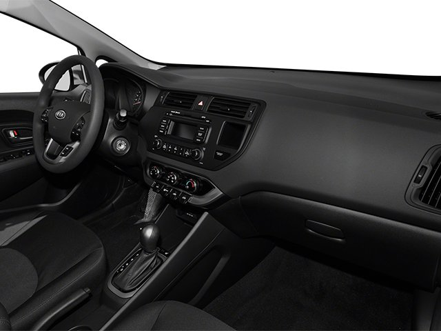 2014 Kia Rio Prices and Values Sedan 4D SX I4 passenger's dashboard