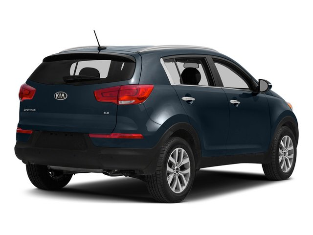 2014 Kia Sportage Prices and Values Utility 4D SX 2WD I4 Turbo side rear view