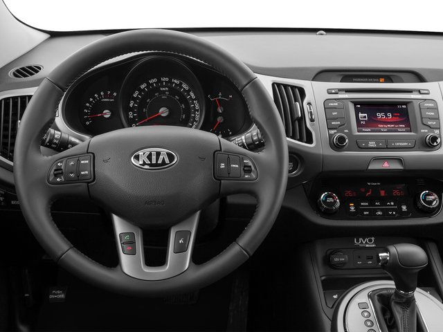 2014 Kia Sportage Prices and Values Utility 4D SX AWD I4 Turbo driver's dashboard