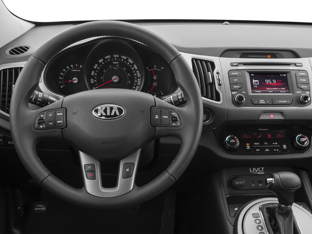 2014 Kia Sportage Prices and Values Utility 4D SX 2WD I4 Turbo driver's dashboard