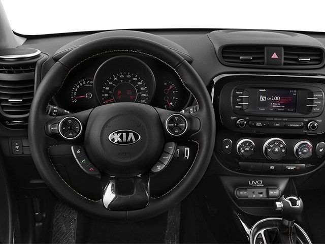 2014 Kia Soul Prices and Values Wagon 4D ! I4 driver's dashboard
