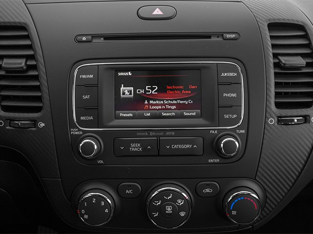 2014 Kia Forte Prices and Values Sedan 4D LX I4 stereo system