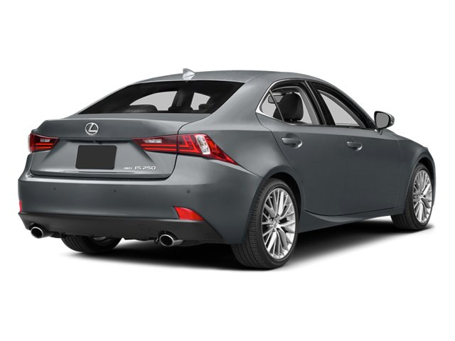 2014 Lexus IS 250 Prices and Values Sedan 4D IS250 V6 side rear view