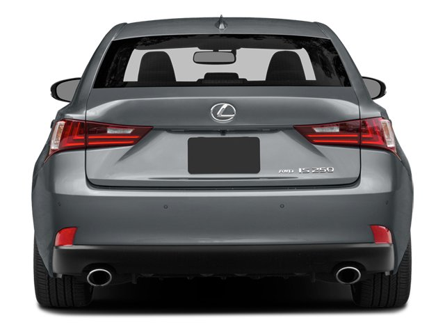2014 Lexus IS 250 Prices and Values Sedan 4D IS250 V6 rear view