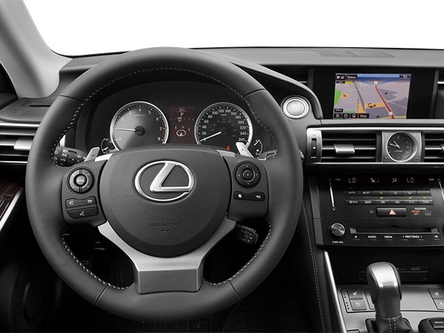 2014 Lexus IS 250 Prices and Values Sedan 4D IS250 V6 driver's dashboard