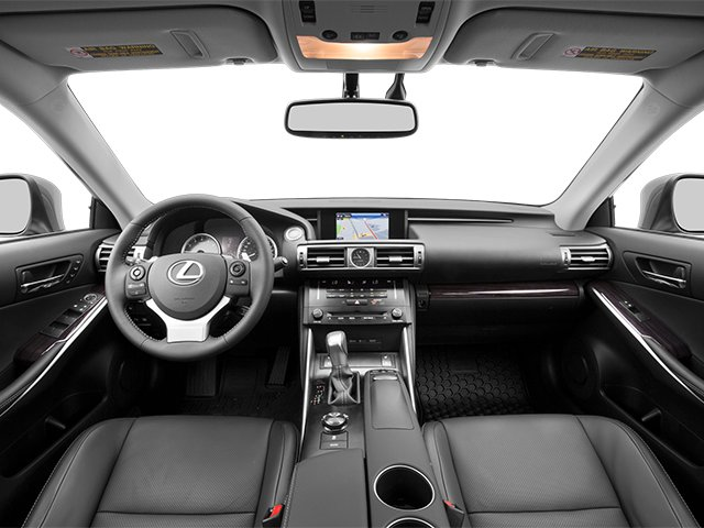 2014 Lexus IS 250 Prices and Values Sedan 4D IS250 V6 full dashboard