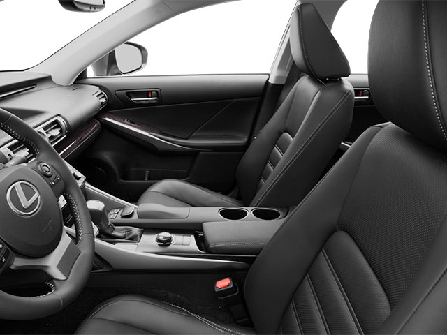 2014 Lexus IS 250 Prices and Values Sedan 4D IS250 V6 front seat interior