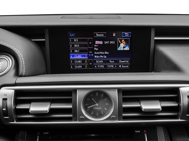 2014 Lexus IS 250 Prices and Values Sedan 4D IS250 V6 stereo system