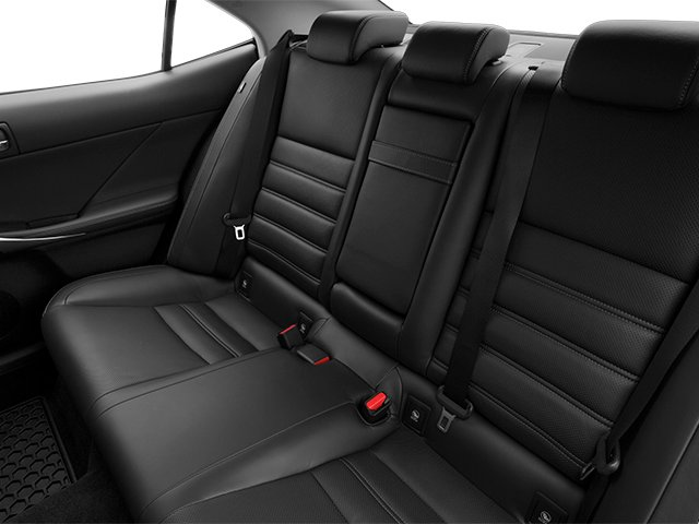 2014 Lexus IS 250 Prices and Values Sedan 4D IS250 V6 backseat interior