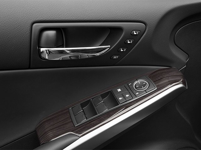 2014 Lexus IS 250 Prices and Values Sedan 4D IS250 V6 driver's side interior controls