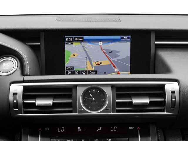 2014 Lexus IS 250 Prices and Values Sedan 4D IS250 V6 navigation system