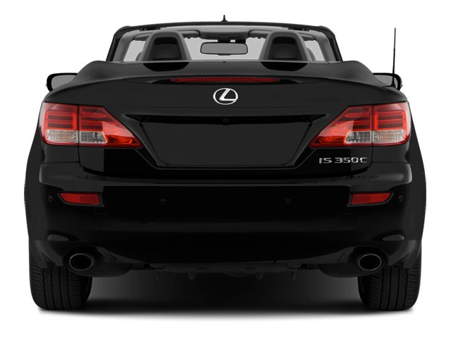 2014 Lexus IS 350C Prices And Values Convertible 2D IS350 V6 Rear View