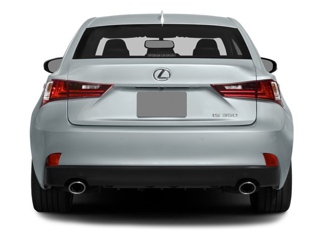 2014 Lexus IS 350 Prices and Values Sedan 4D IS350 AWD V6 rear view