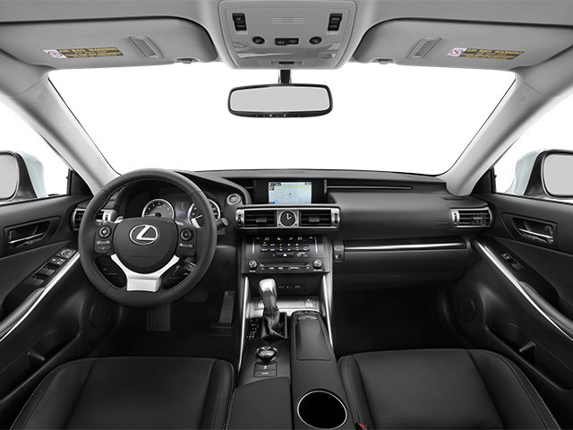 2014 Lexus IS 350 Prices and Values Sedan 4D IS350 AWD V6 full dashboard