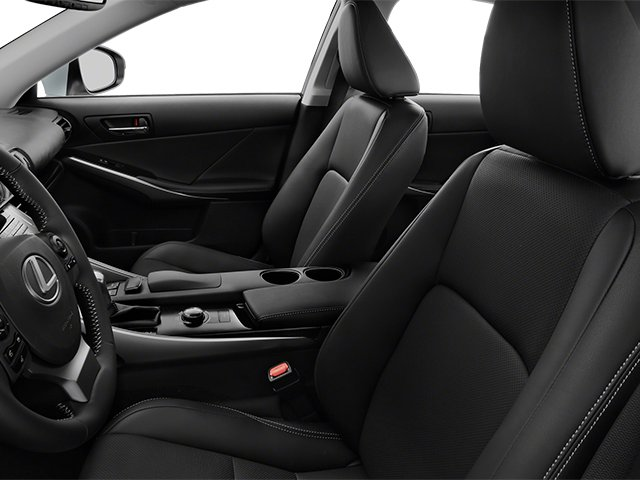 2014 Lexus IS 350 Prices and Values Sedan 4D IS350 AWD V6 front seat interior
