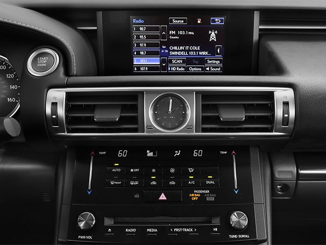 2014 Lexus IS 350 Prices and Values Sedan 4D IS350 AWD V6 stereo system