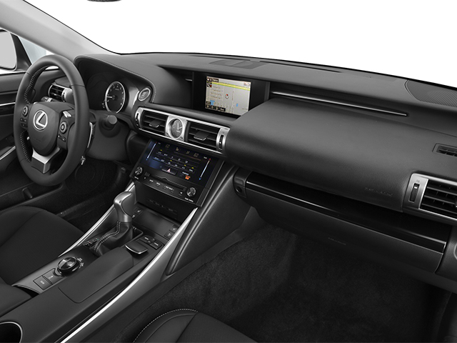 2014 Lexus IS 350 Prices and Values Sedan 4D IS350 AWD V6 passenger's dashboard
