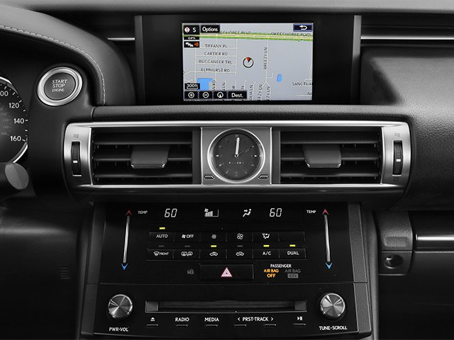 2014 Lexus IS 350 Prices and Values Sedan 4D IS350 AWD V6 navigation system