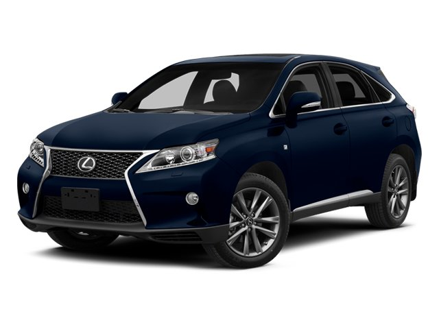 2014 Lexus RX 350 Prices and Values Utility 4D AWD V6 side front view