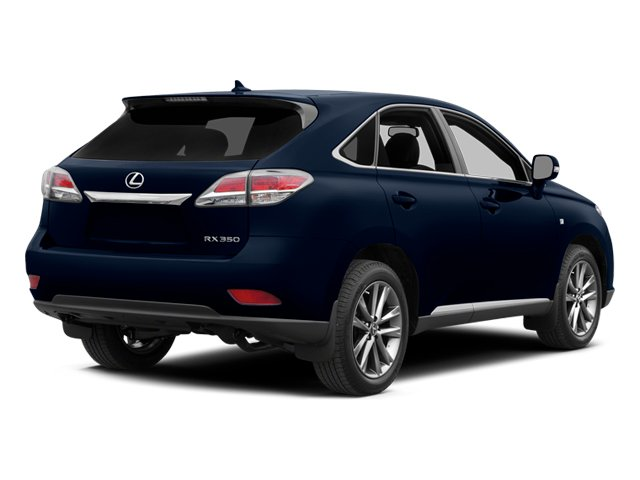2014 Lexus RX 350 Prices and Values Utility 4D AWD V6 side rear view